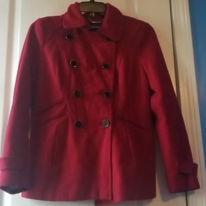 Express Double-breasted Peacoat